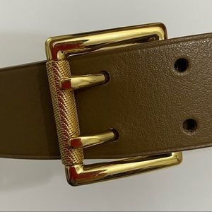NWT Talbots Women Belt Split Leather Upper Medium